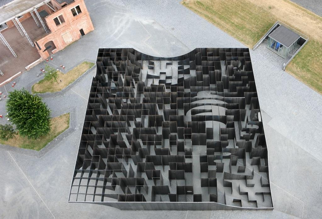 Labyrint uit de lucht